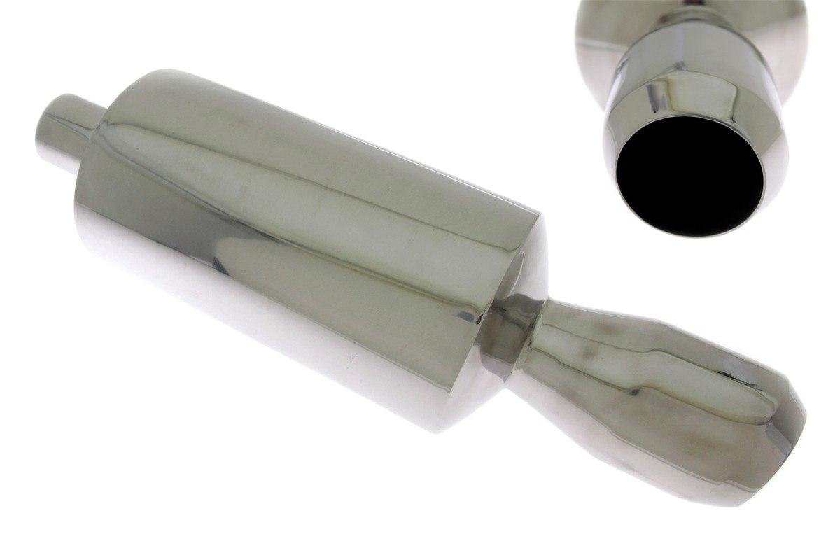 Tłumik Końcowy TurboWorks 100mm wejście 63,5mm
